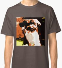 Dog Running Classic T-Shirt