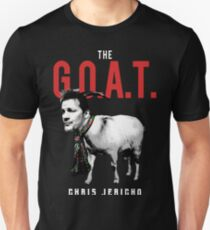 The Greatest of All Time - G.O.A.T. Jericho Unisex T-Shirt
