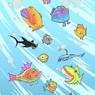 Weird Funny Fish by Dave Stephens