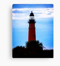 Ponce de Leon Lighthouse near Daytona Beach in Florida Canvas Print