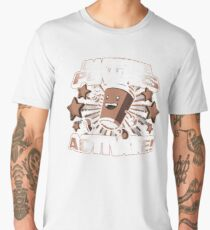 Caffeine Powers Men's Premium T-Shirt