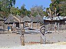 A Small Namibian Village by Graeme  Hyde