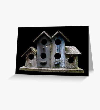 Sluggish Bird's Housing Market Greeting Card