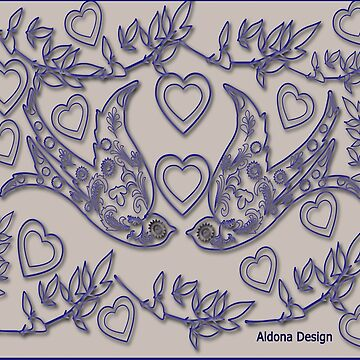 Designed for Adult Coloring  (2868   views) by aldona