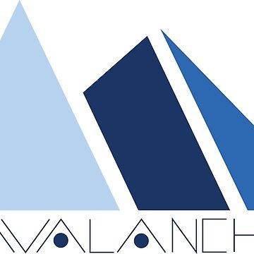 Avalanche Logo by delcarlodesign
