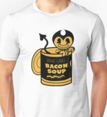 Bendy inside The Bacon Soup Cup Unisex T-Shirt