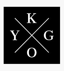 Kygo White Photographic Print
