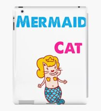 Mermaid Costume For The Cat iPad Case/Skin