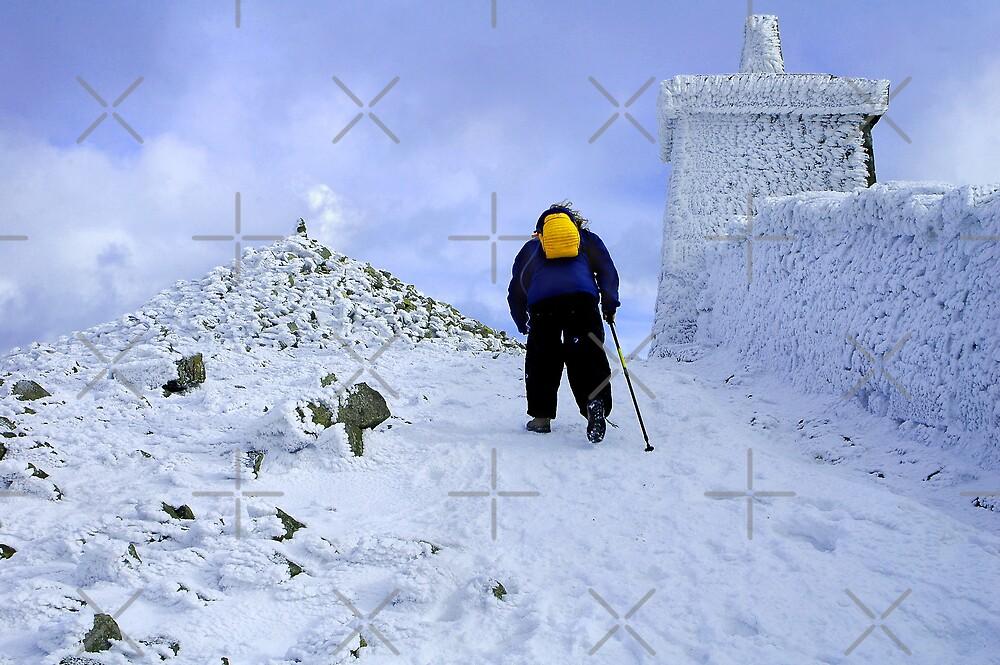Climbing Slieve Donard by Stevie Mancini