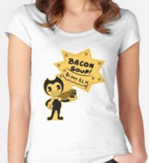 Cheaper Bacon Soup Women's Fitted Scoop T-Shirt
