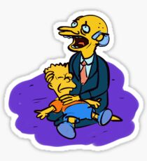 Bart & Burns Sticker