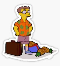 Pineapple Smithers Sticker