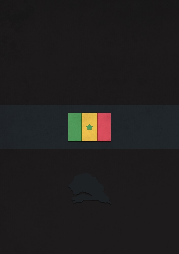 Senegal by FlatFlags