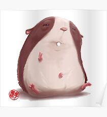 Hammy The Hamster Poster