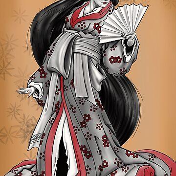 Geisha by Steve-Varner