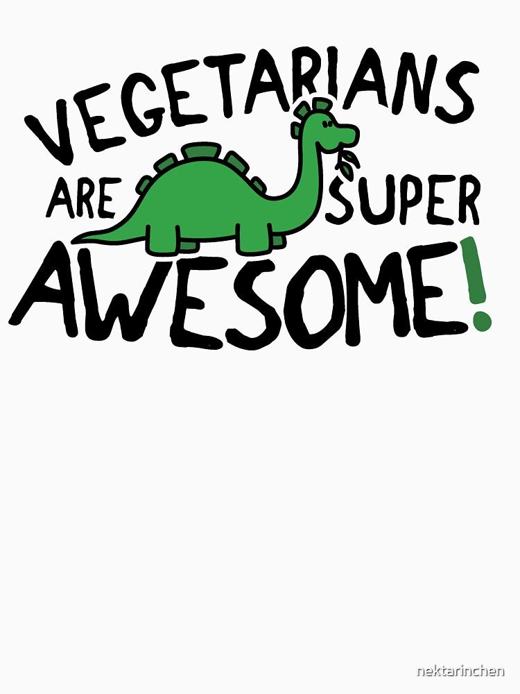 Vegetarians are super awesome! by nektarinchen