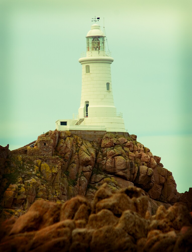 Jersey Lighthouse by Alan May