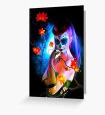 Dark Alice Greeting Card