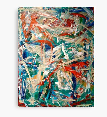 Evening Abstraction  Canvas Print