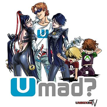 Bayonetta 2 on Wii U = U Mad? by enigmaxtreme