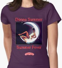 DONNA SUMMER - FOUR SEASONS OF LOVE - SUMMER FEVER Womens Fitted T-Shirt