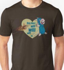 Spider Donkey In Love Unisex T-Shirt