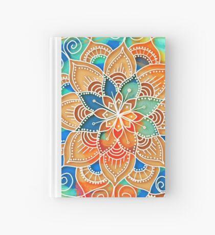 Midnight Mandala Hardcover Journal