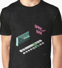 Space Bar Graphic T-Shirt