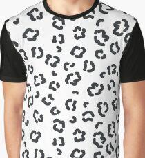 Leopard black spots pattern Graphic T-Shirt
