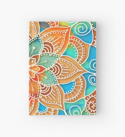 Tangerine Dream Mandala Hardcover Journal