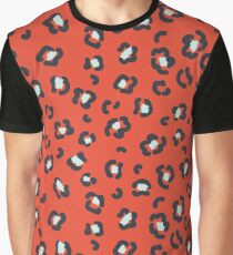 Abstract leopard spots pattern Graphic T-Shirt