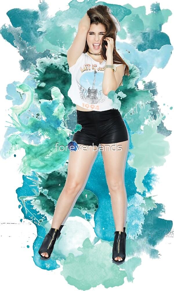 Lauren Jauregui Blue Splash!  by foreverbands