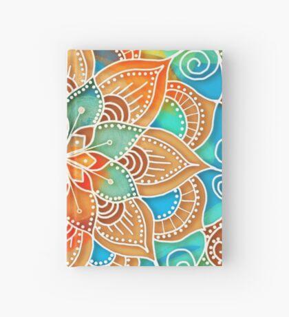 Turquoise Peace Mandala Hardcover Journal