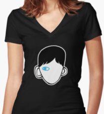 Wonder book Fitted V-Neck T-Shirt