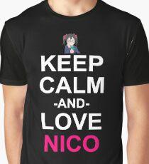 Nico Inspired Anime Shirt Graphic T-Shirt