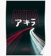 AKIRA BLACK ROAD Poster