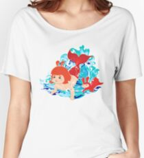 Baby Girl Mermaid Women's Relaxed Fit T-Shirt