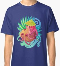 Krake am Strand Classic T-Shirt