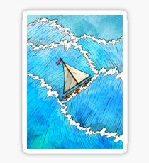 Let's Go Sailing Sticker