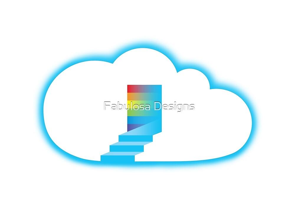 Rainbow cloud by Fabulosa Designs Tony Hardy-vanDoorn