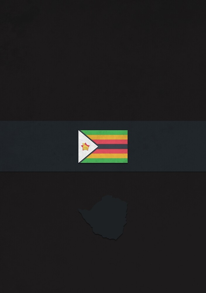 Zimbabwe by FlatFlags