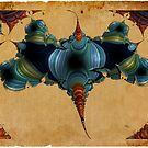 Retro-fractal 5 by © Kira Bodensted