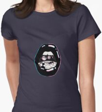 Space Mouth Womens Fitted T-Shirt