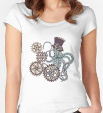 Mr. Octopus Women's Fitted Scoop T-Shirt
