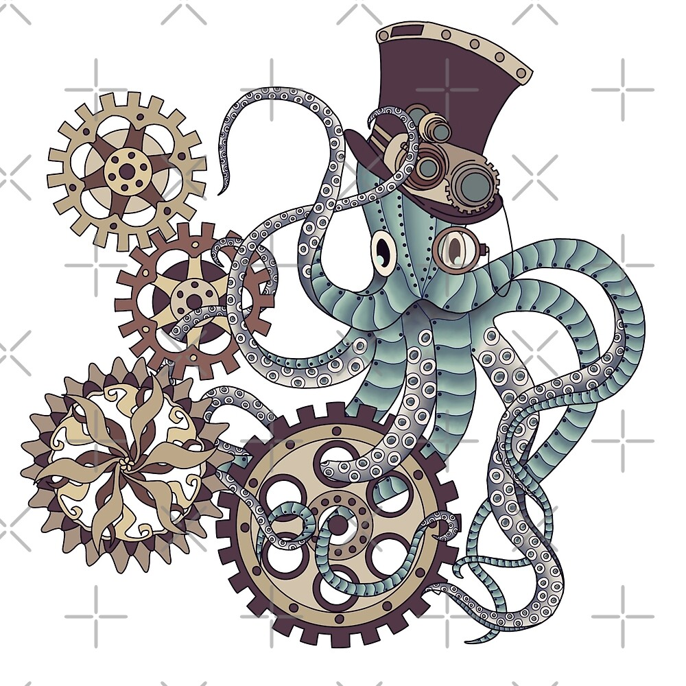Mr. Octopus by paviash