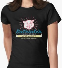 Satriale's - Red Piggy Logo Filled T-Shirt