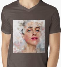 PORTRAIT STUDY Mens V-Neck T-Shirt