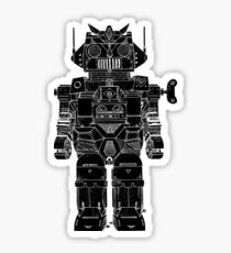 Robot Toy Sticker