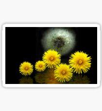 dandelion world -3- Sticker