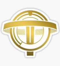 Transtar Gold Mug Sticker